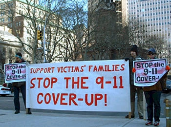 911 Protest
